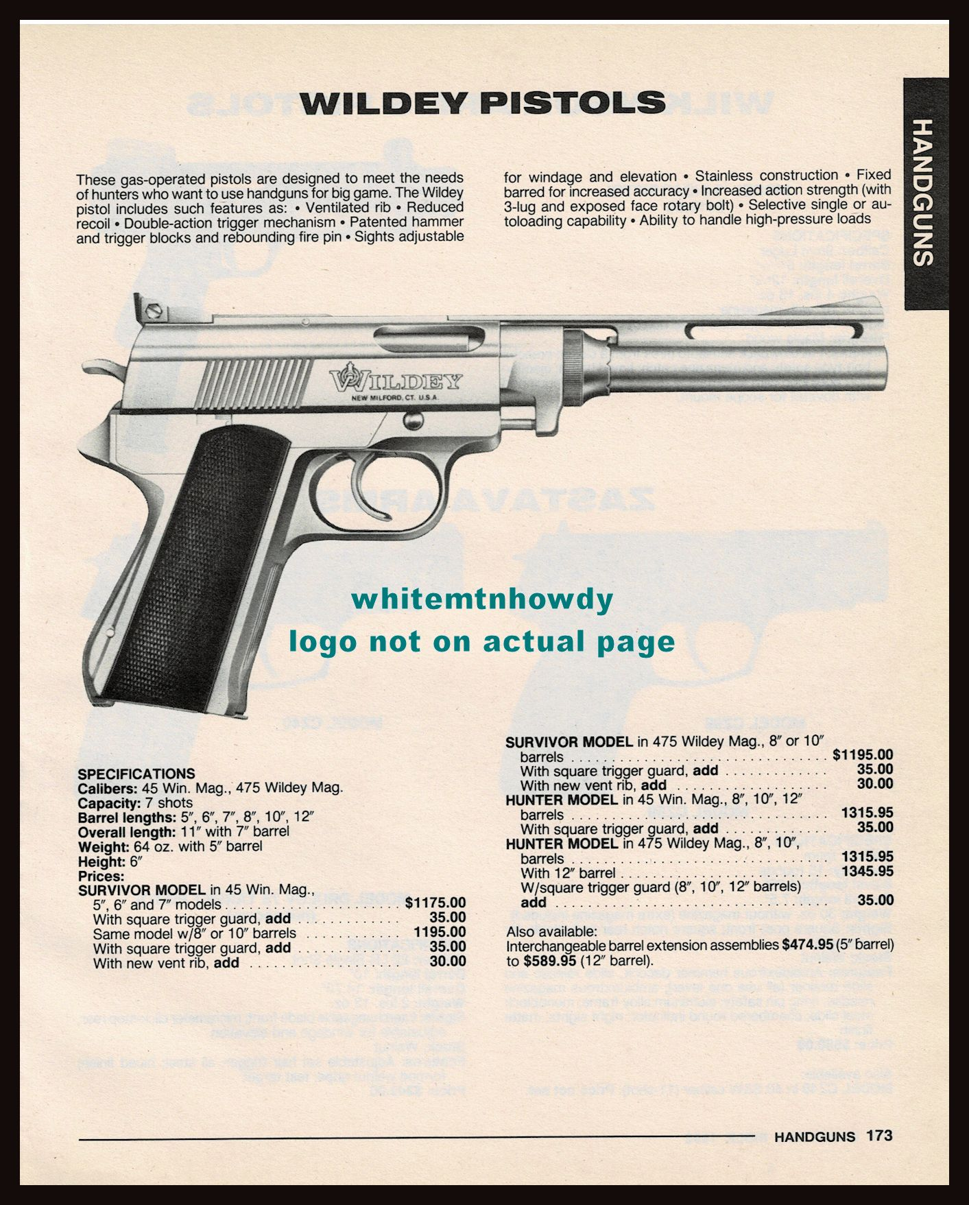 Pin On Other Gun Advertising Articles