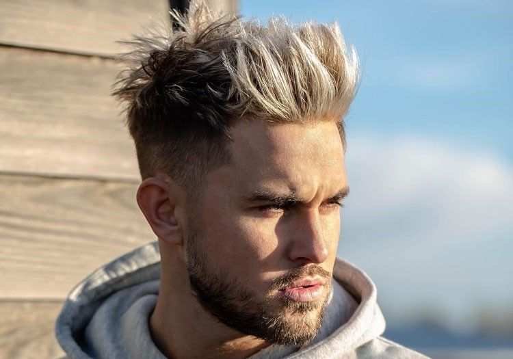 94 Best Super Trending Celebrity Hairstyles For Men 2020 In 2020 Long Hair Fade Cool Hairstyles For Men Men Blonde Hair