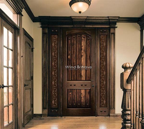 Authenticity door,Egyptian Handmade doors,Size:270*170cm,Description:Single Door, with ticked metal,with two sildlites