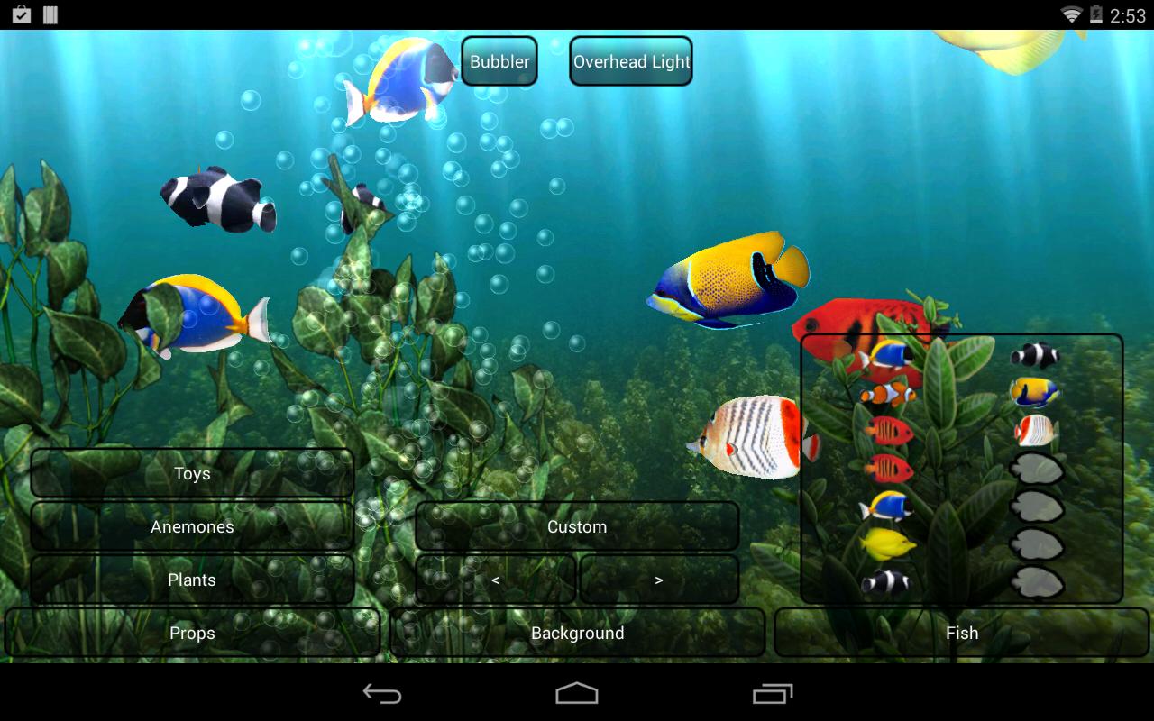 Acuarios En Movimiento Para Fondos De Pantalla Gratis Aquarium Live Wallpaper Free Live Wallpapers Live Wallpapers