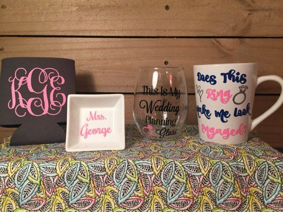 Engagement Box Gift Engagement Gift Set Bride To Be Gift