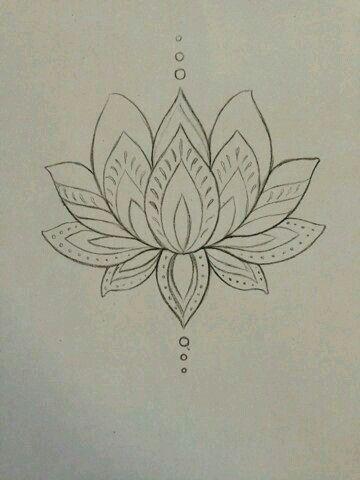 Flor De Loto Disenos Con Henna Tatuajes De Henna Tatuajes