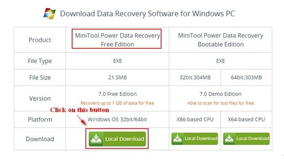 Restore-deleted-partition-Windows-7-2 | MiniTool Power Data