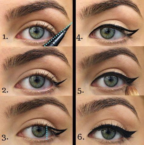 awesome Как рисовать стрелки на глазах? (50 фото ...
