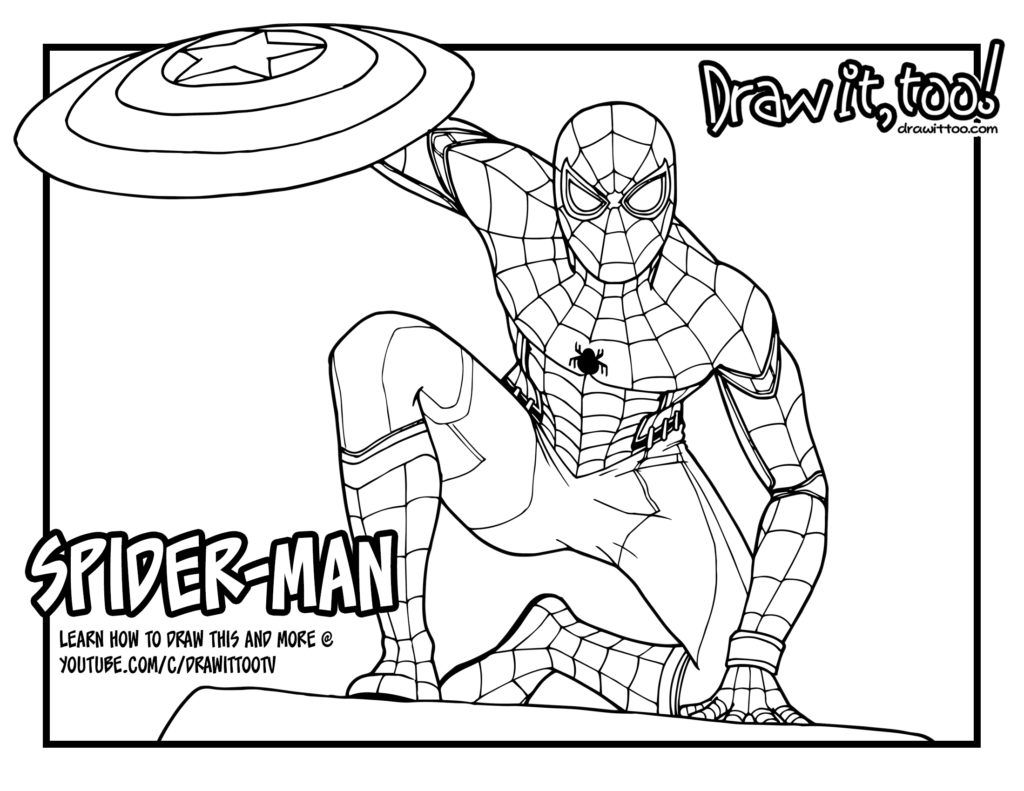 Spider Man Homecoming Coloring Pages 11 Vulture Drawing Spider Man Homecoming For Free Download On Ayoqq Birijus Com Spiderman Song Lyrics And Chords Of Monsters And Men
