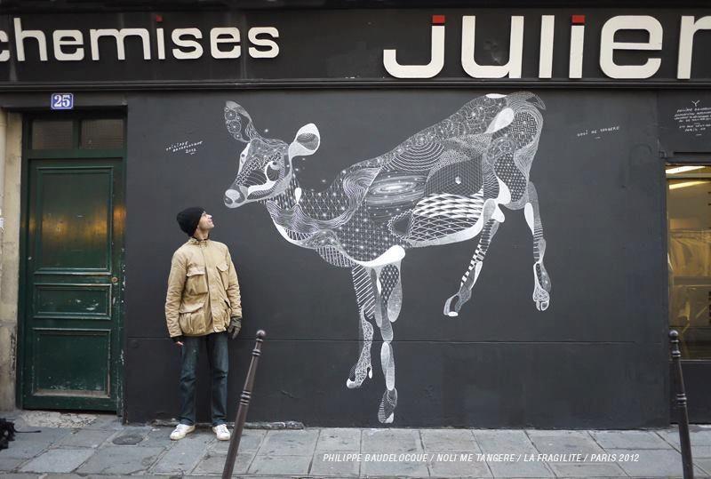 Philippe Baudelocque, cuadros urbanos con gis - Cultura Colectiva - Cultura Colectiva