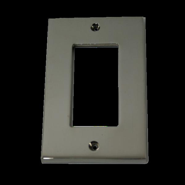 Modern Square Switch Plate Decora Gfi Cover Plate Modern Square Decorative Switch Plate Switch Plates