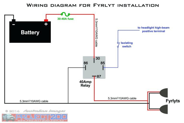 Simple Light Wiring Diagram | Diagrams | Electrical circuit ... on