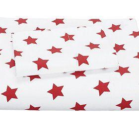 Stars Percale Duvet Cover