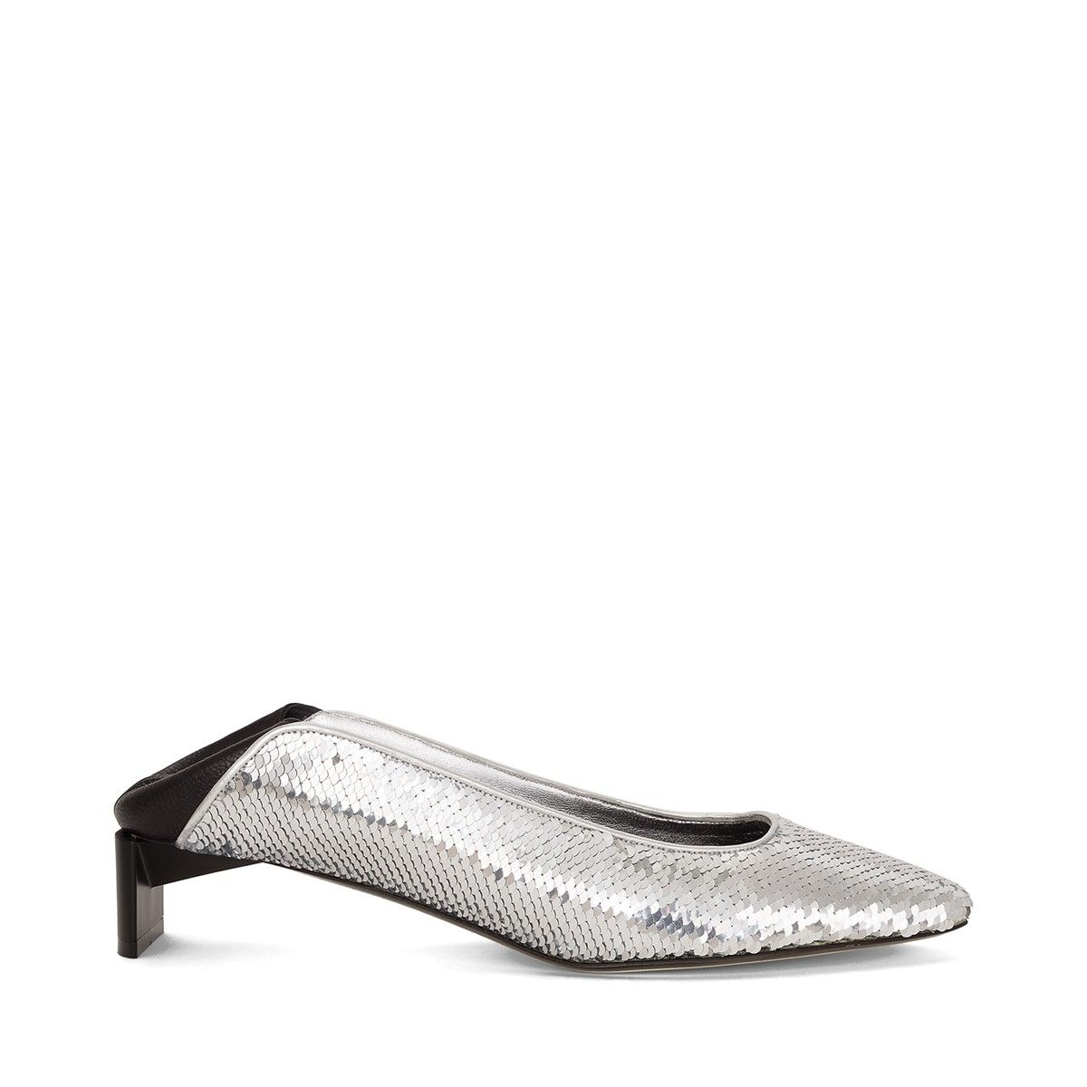 c38dc8ddd4e Loewe Shoes - Low Heel Slipper silver Discover Loewe Shoes products, like  our Low Heel Slipper silver. Enter now.