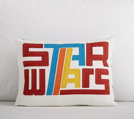 Pottery Barn Kids Logo: Star Wars Baby, Pillows, Star
