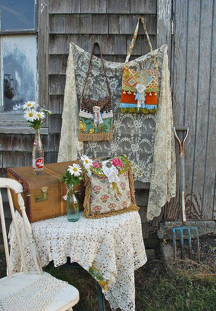 Vintage Gypsy Bags by blondiebluvintage, via Flickr