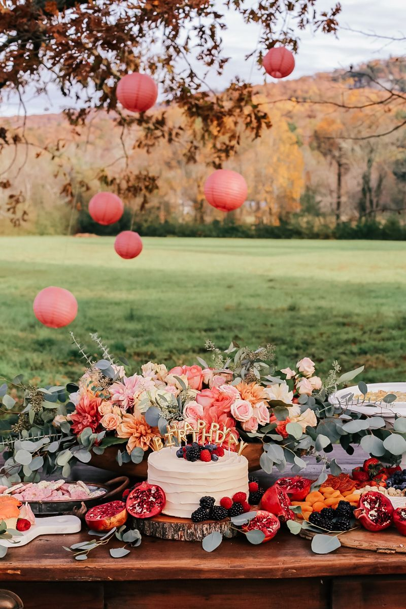 Outdoor Fall Birthday Party Southern Style Guide