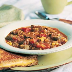 Vegetable-Beef Soup   MyRecipes.com