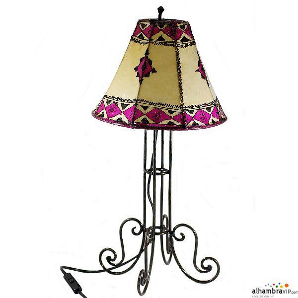 forja de mesa rosaDecoracion Arabe Lampara AlhambraVIP kOP0w8nX