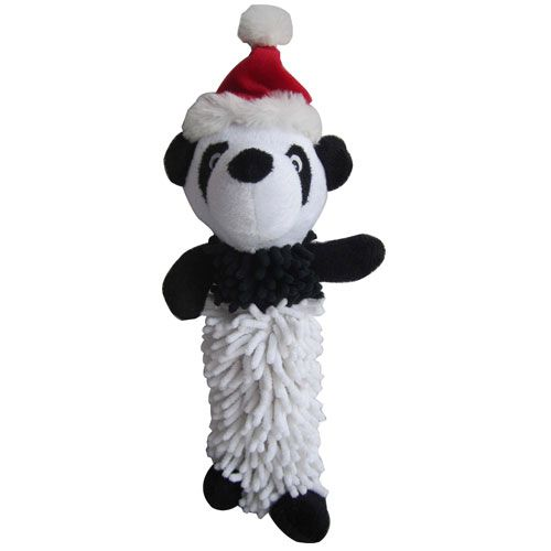Panda Noodle Squeaky Dog Toy These Christmas Noodle Plush