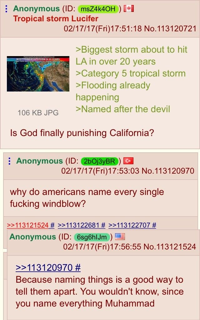 American on /pol/ defends his culture.