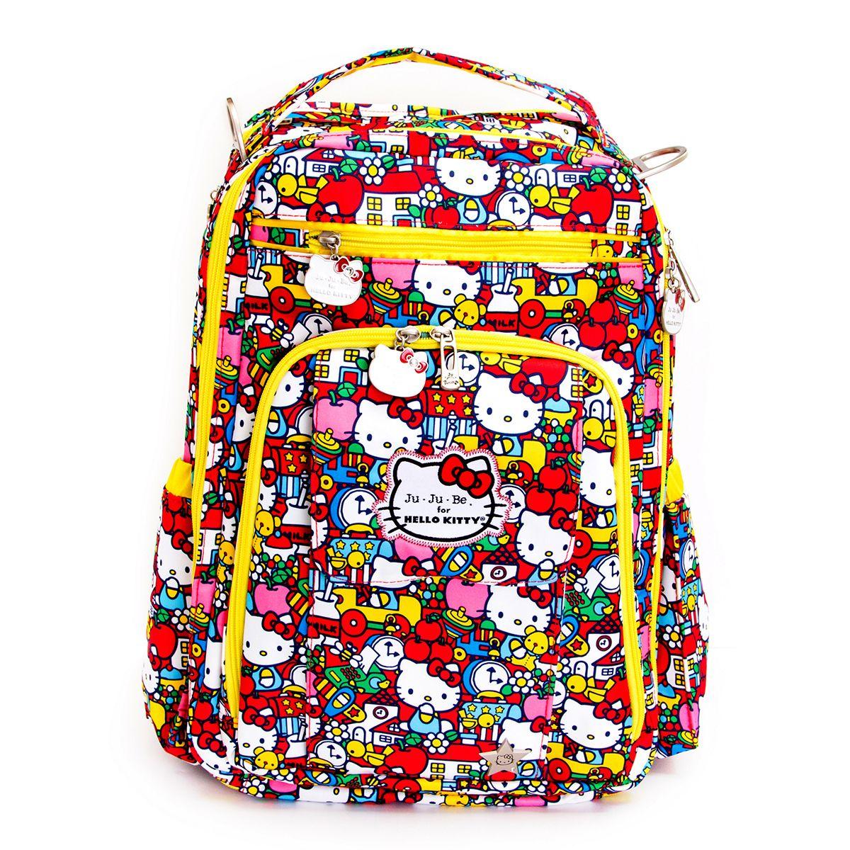 059065e4da77 Ju-Ju-Be Be Right Back Tick Tock Hello Kitty Diaper Backpack ...