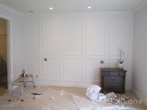 Wall Molding Unbelievable Accent Wall White Molding Wall Treatments Pinterest Wall