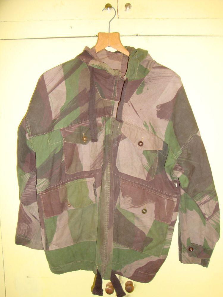 WW2 British Camouflage Windproof Smock 1943 | eBay