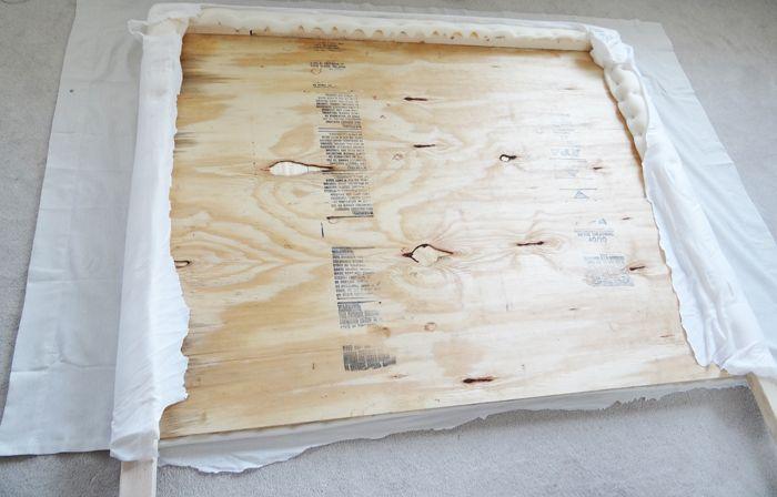 DIY Headboard Upholstered with Nailhead Trim | Diy ...