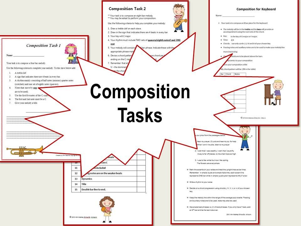 A Variety Of Composition Activities For The Music Classroom Musiceducation Musedchat Music Curriculum Elementary Music Classroom Teaching Music