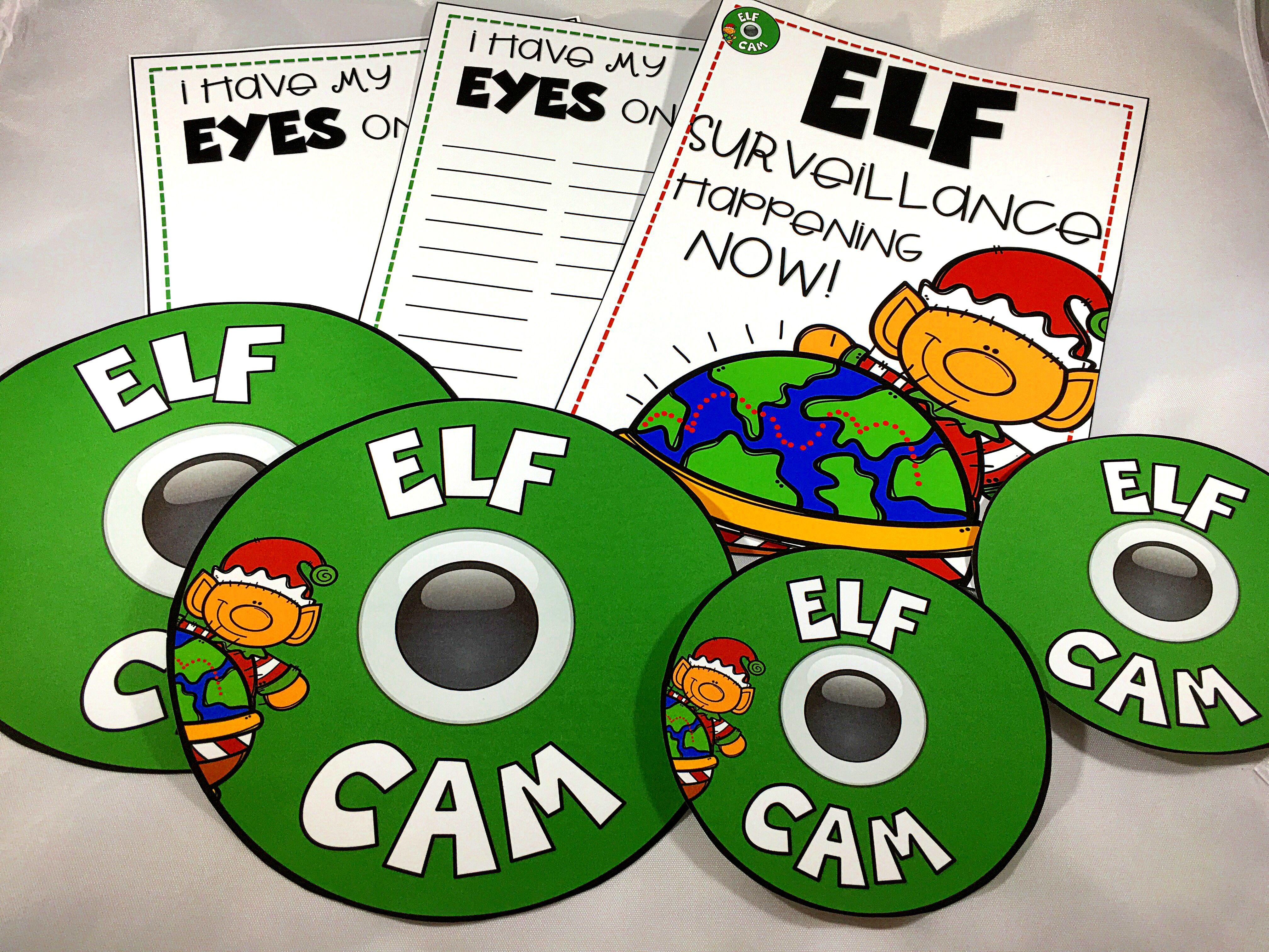 Elf Cam Christmas December