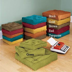 box floor pillows 15 29 pillows from CRIBCANDY a gallery of