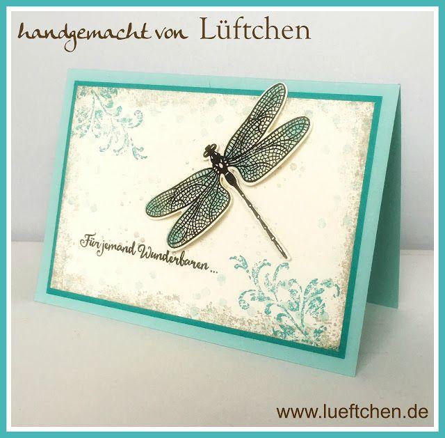 Lüftchen Stempelstudio Bergedorf, Libelle, Liebeleien, dragon fly dreams,