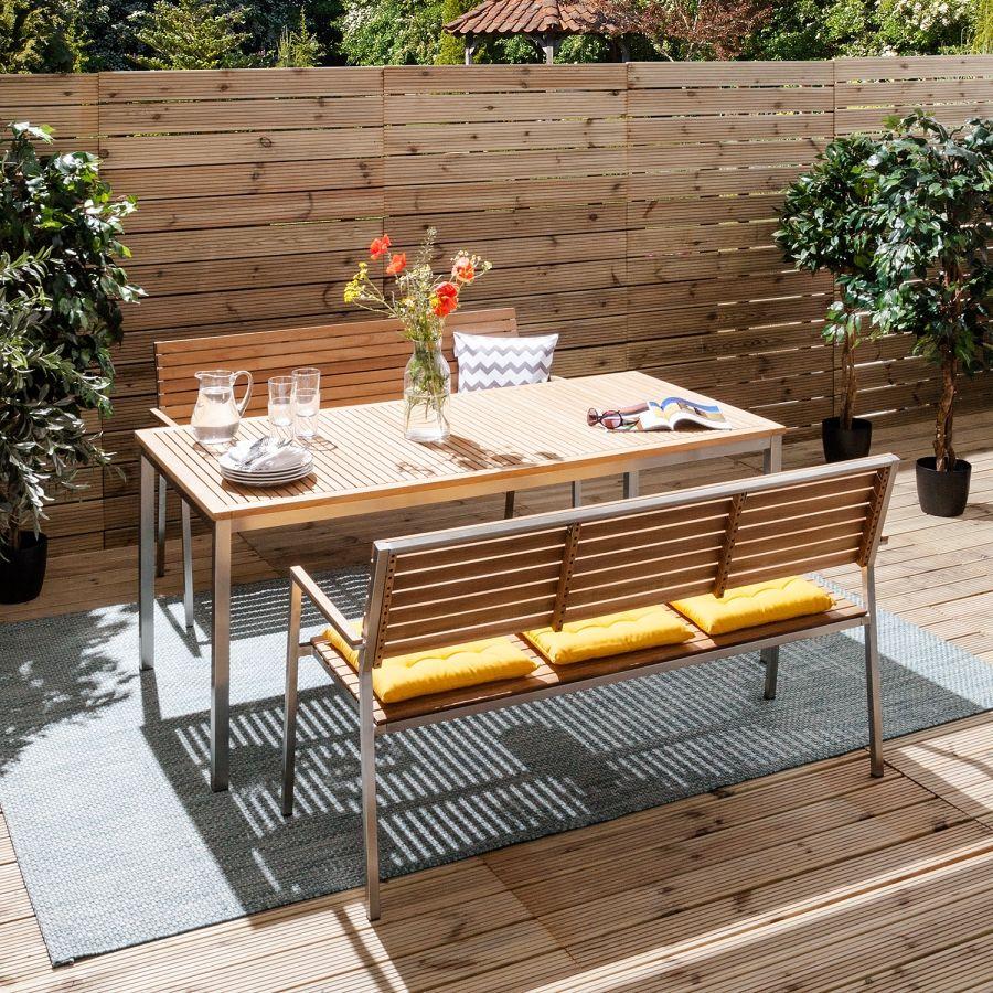 Deinen Garten Gunstig Und Schick Mit Gartenbanken Von Studio Copenhagen Einrichten Home24 Gartentisch Gartensofa Gartenbanke