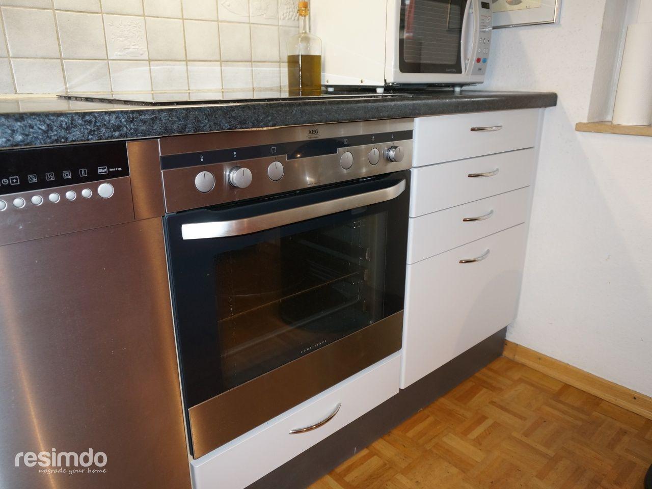 Küche bekleben | Küche folieren, Möbel folieren und Küche ...