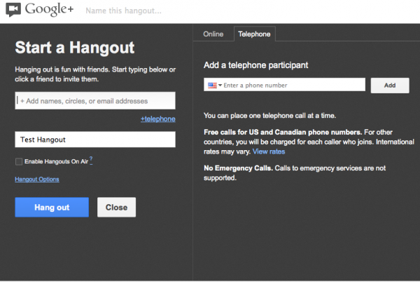 Google+ Hangouts on air a new video marketing