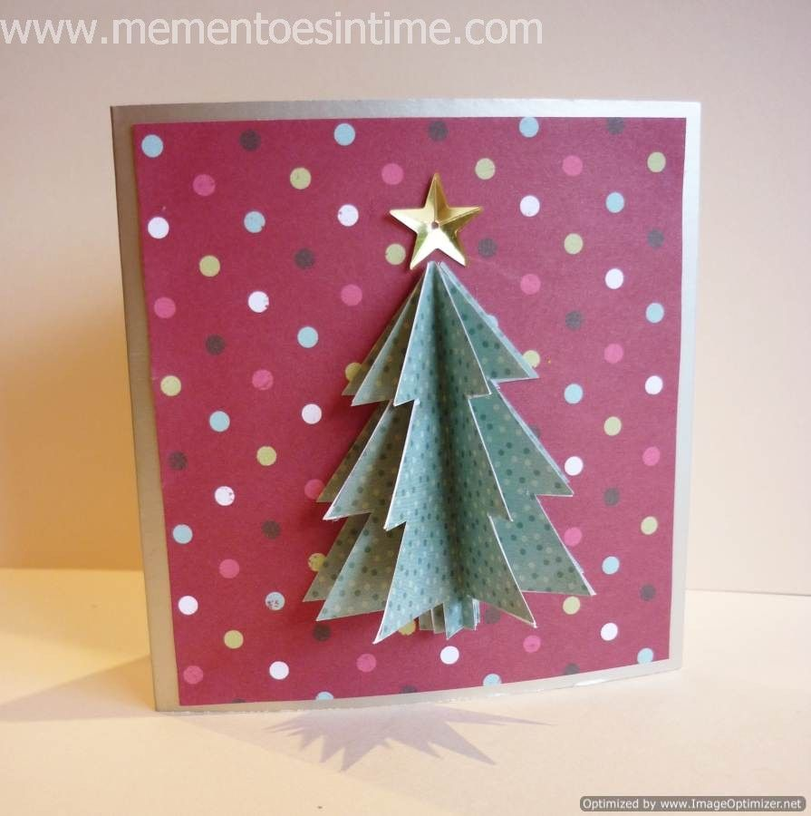 Christmas Cards And Cardmaking Ideas Mementoes In Time Christmas Tree Cards 3d Christmas Cards Walgreens Christmas Cards