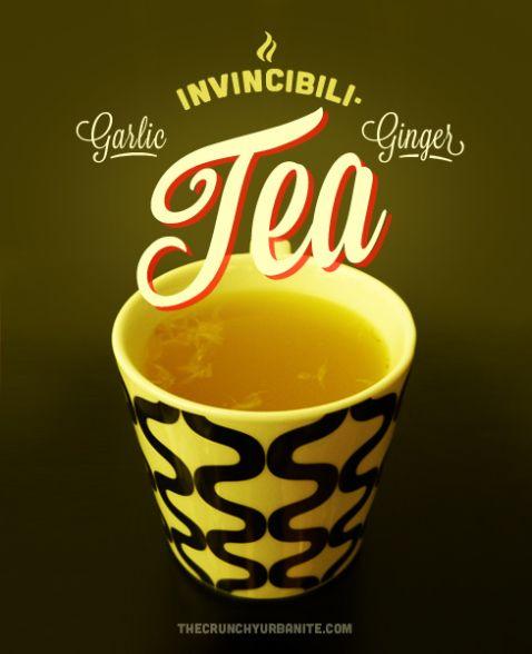 Garlic Ginger Invincibili-Tea || Boil garlic, ginger