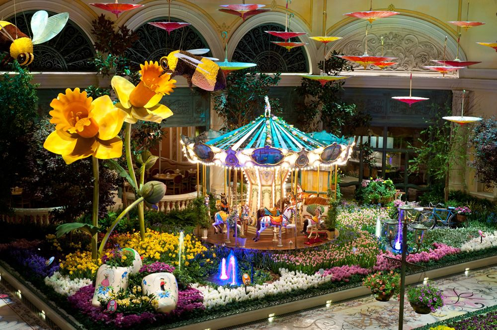 Bellagio Conservatory And Botanical Gardens Las Vegas Inspiration Floral X Garden