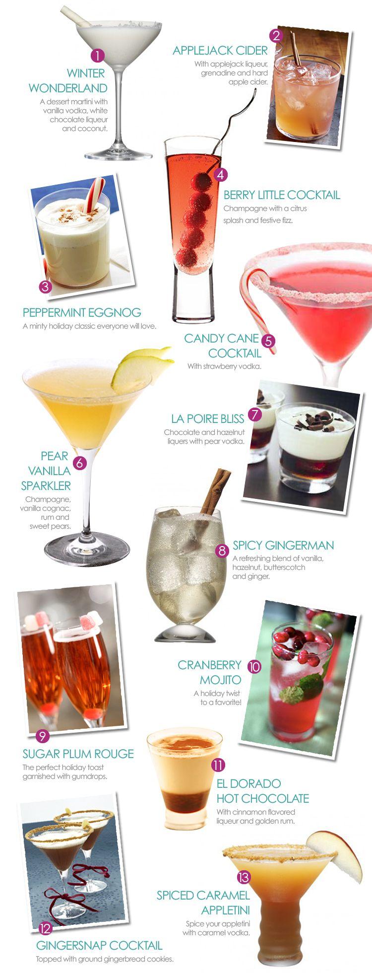 Cocktails Holiday Drinks Christmas drinks, Christmas