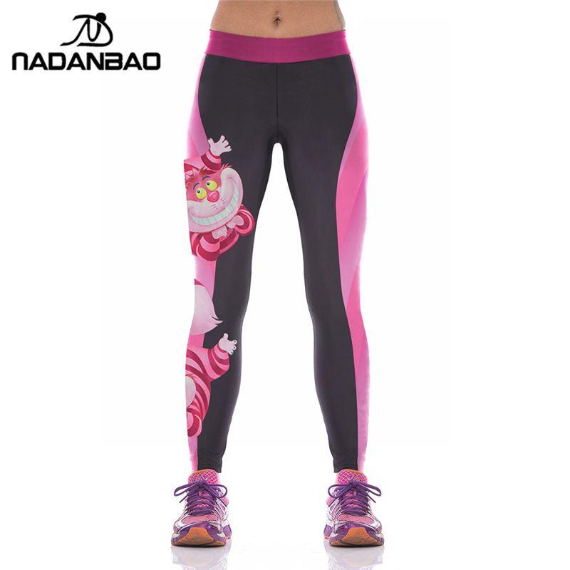 Womens Grils Weihnachten Yoga Hosen Leggings Xmas gedruckt Sport Workout Hose