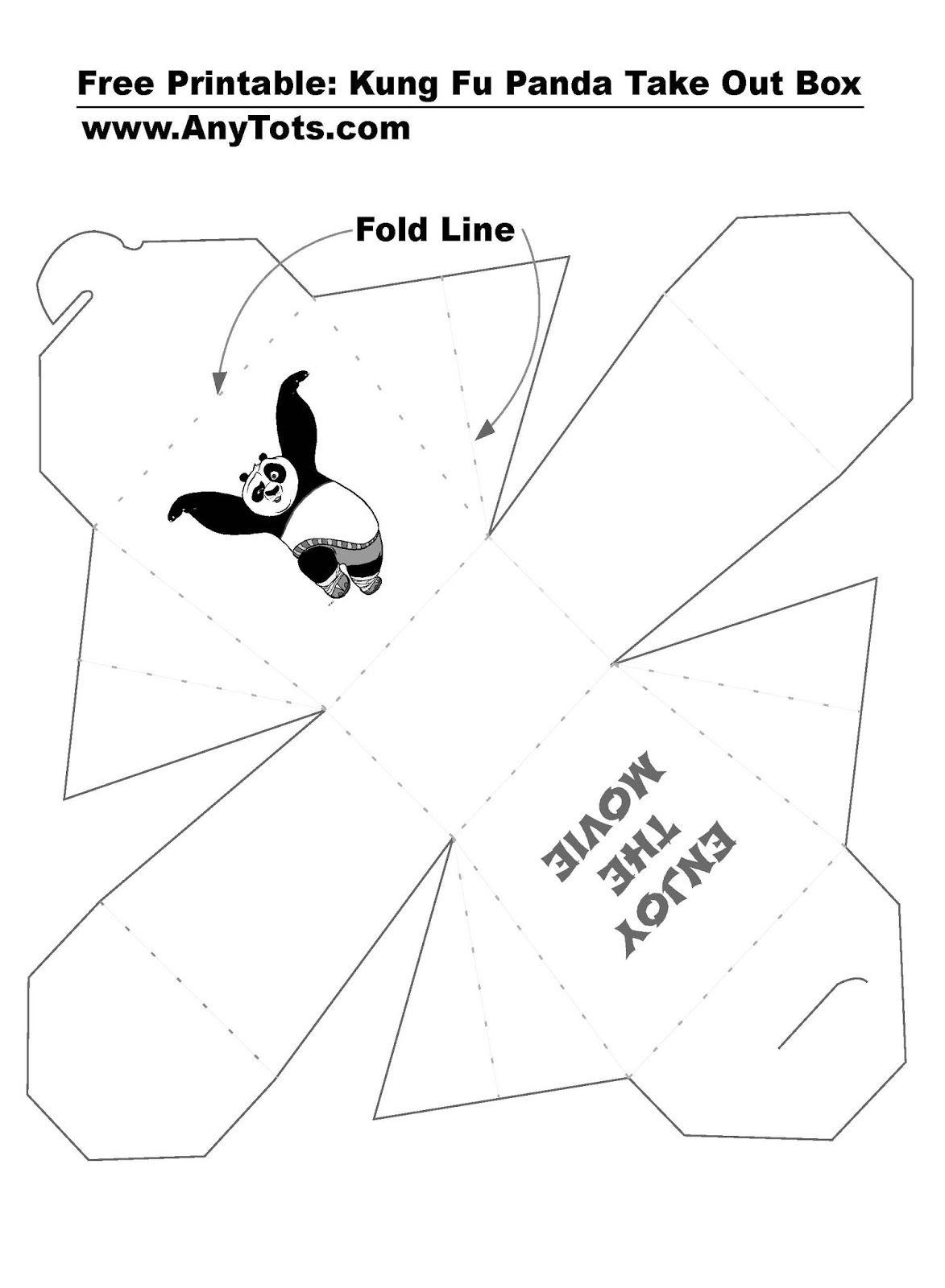 Kung Fu Panda Party Ideas Free Printable Activity Sheets