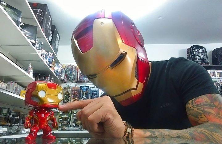 Cascos, funko pop's y más... mucho más en tienda #toysmasters #funkopop #ironman #avengers #toys #toysforkids