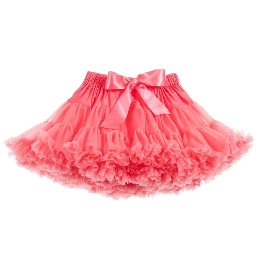 8d41109dbf ANGEL'S FACE Coral Red Chiffon Frilled Tutu Skirt | Angel's Face ...