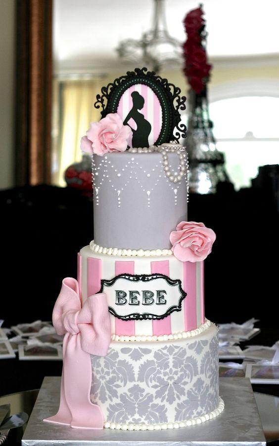 Baby Shower cake topper comestible cerise baptême Gâteau Baby Shower Décoration
