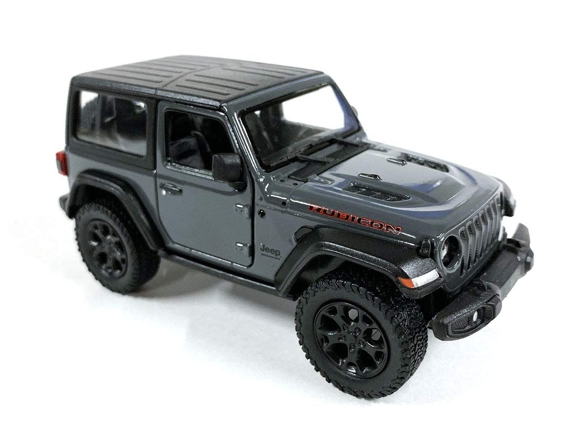 Jeep Wrangler Rubicon 4x4 Hard Top Off Road Exploration Diecast