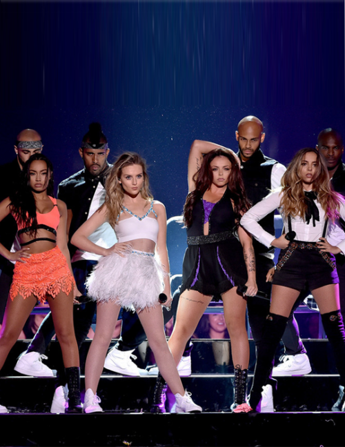 Little Mix performing Black Magic at the Teen Choice Awards 2015