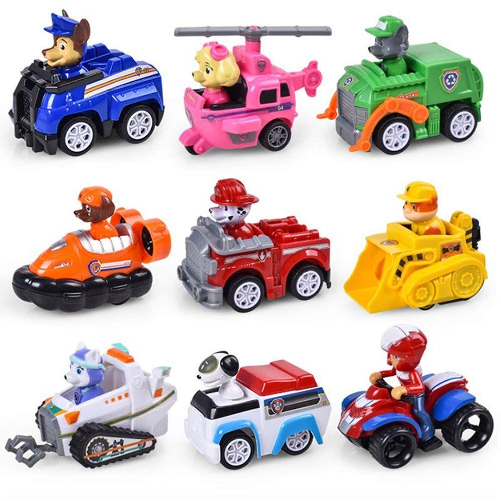 Pat Patrouille Jouet Figurines Voitures Paw Patrol Enfants 6 Pieces