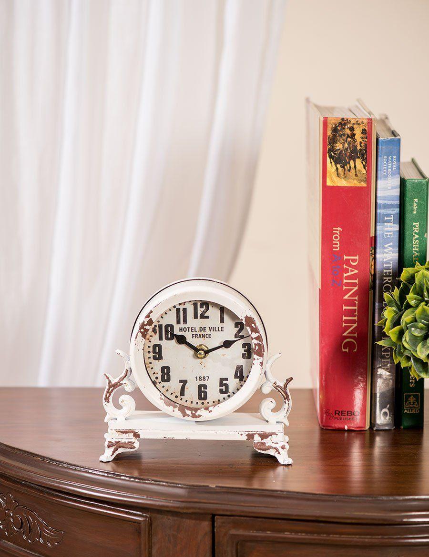 Table Clocks Buy Online Antique Rustic Table Clock Hotel De