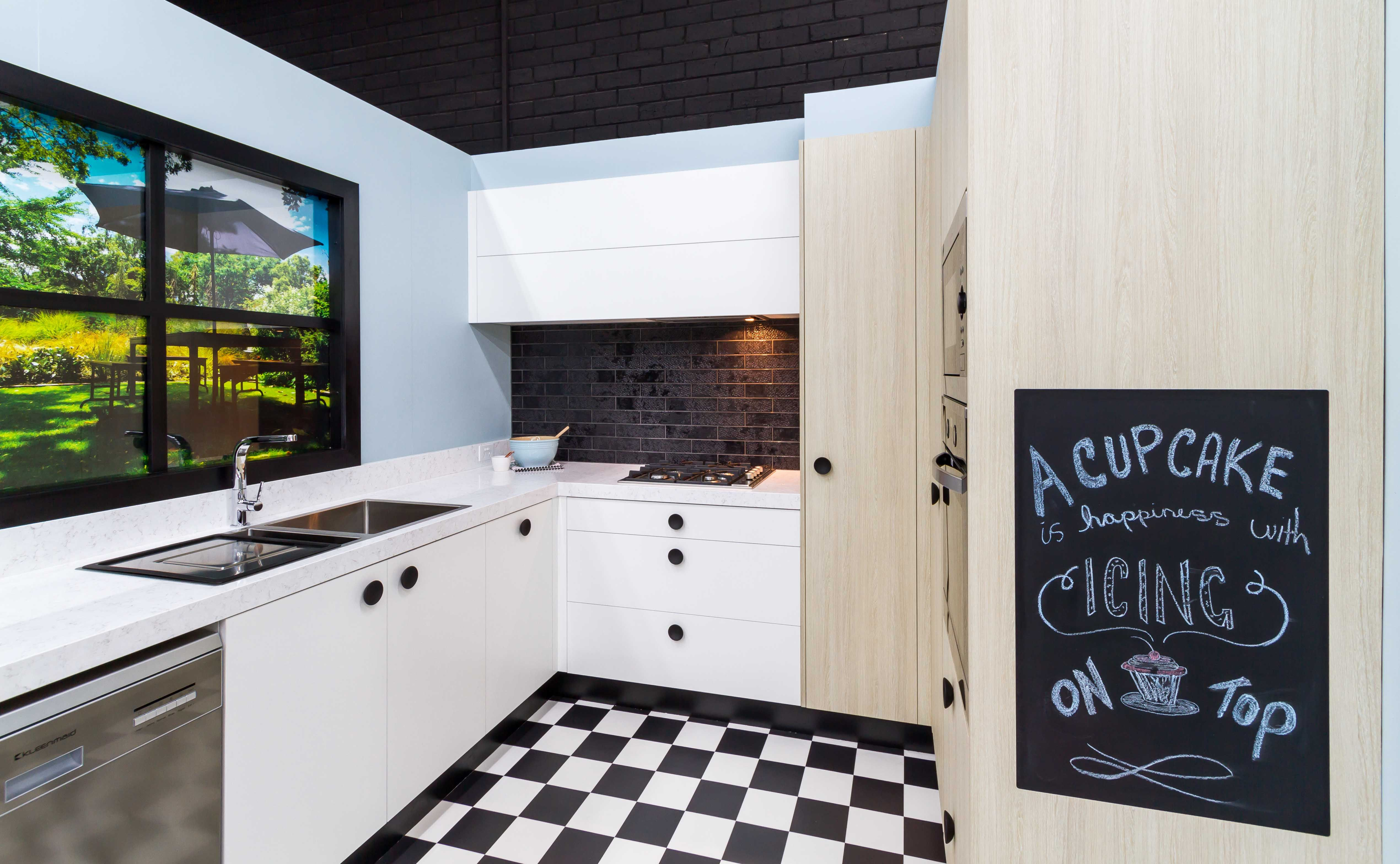 Laminex Design Hub has sponsored this kitchen to create a Vintage ...