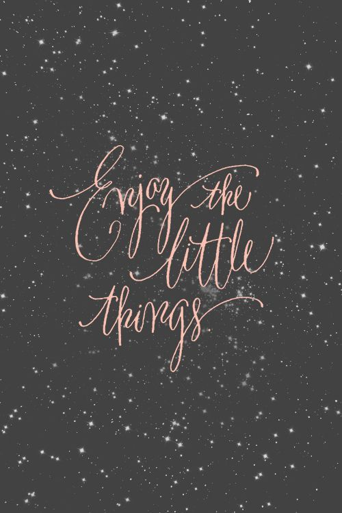 Gentil Enjoy The Little Things Free Printable ADORABLE!