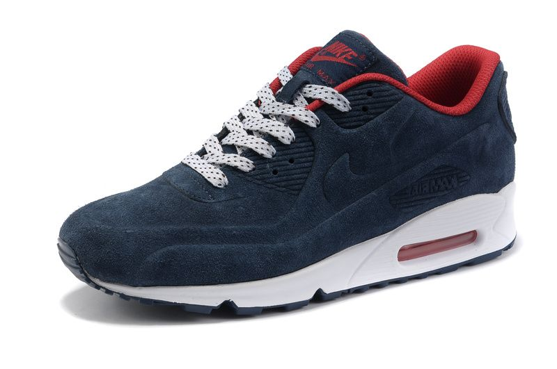 Clever Choices Anti Fur Mens Qs Nike Dark Blue Air Max 90 Vt Shoes Prm