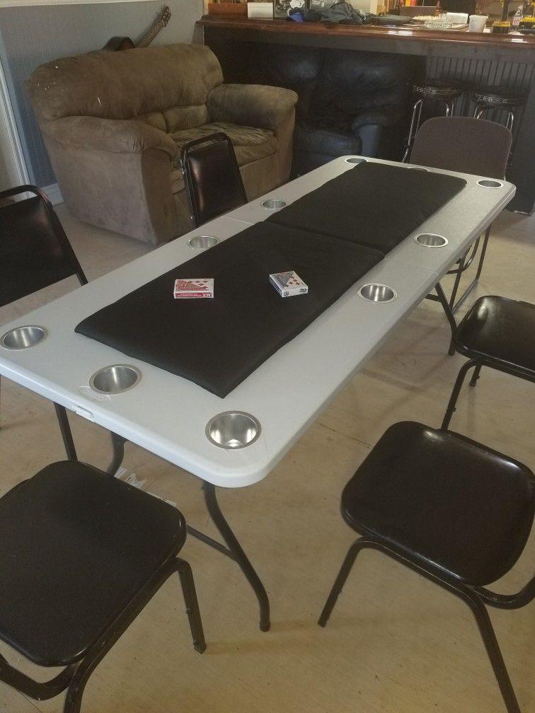 Diy Card Table Table Cards Poker Table Table