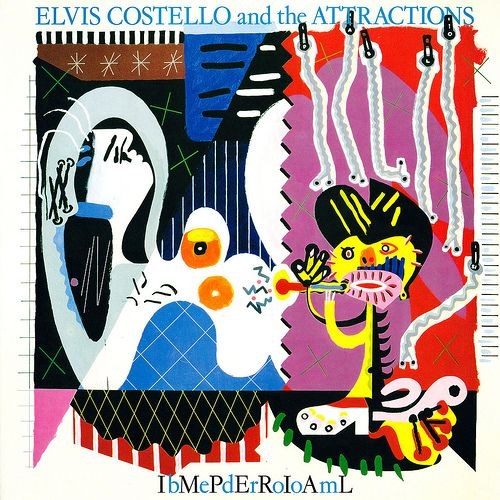Elvis Costello Imperial Bedroom Album Cover Art Elvis Costello Cool Album Covers
